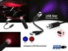 LAMPARA LED DECORATIVA USB CIELO ROJO